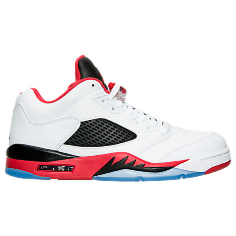 Men's Air Jordan Retro 5 Low Basketball Shoes