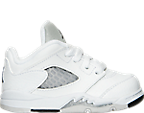 Girls' Toddler Air Jordan Retro 5 Low Basketball Shoes