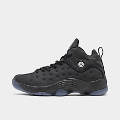 나이키 Nike Mens Air Jordan Jumpman Team II Basketball Shoes,Black/Anthracite/White/Hyper Violet
