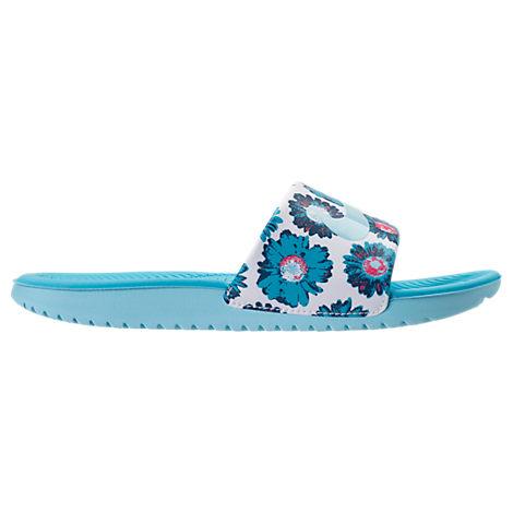 Girls' Grade School Nike Kawa Print Slide Sandals