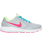 Girls' Grade School Nike Revolution 3 Running Shoe