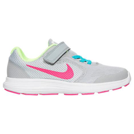 Girls' Preschool Nike Revolution 3 Running Shoes