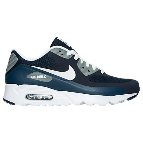 Nike Air Max 90 Cool Blue White Mens Running Trainers Shoes bfb711463a