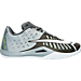 Right view of Men's Nike HyperLive Basketball Shoes in Wolf Grey/White/Pure Platinum/Dark Grey