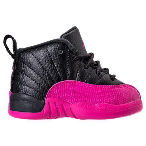 Girls' Toddler Air Jordan Retro 12 Basketball Shoes