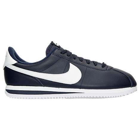 Men's Nike Cortez Basic Leather Casual Shoes