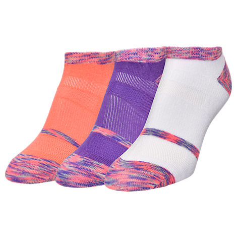 Women's Finish Line Performance 3-Pack No-Show Socks