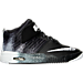 Right view of Boys' Grade School Nike LeBron Air Akronite Basketball Shoes in 001