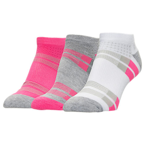 Women's Finish Line Performance 3-Pack Low-Cut Socks