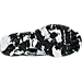 Bottom view of Men's Nike Metcon 2 Training Shoes in Black/White