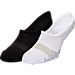 Front view of Men's Finish Line Performance 2-Pack No-Show Socks in WBK