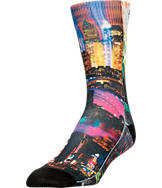Men's Sof Sole Digital Design Sublimated Crew Socks- Large