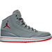 Right view of Men's Air Jordan Executive Off-Court Shoes in Cool Grey/Gym Red/Wolf Grey