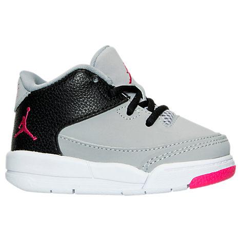 Girls' Toddler Jordan Flight Origin 3 Basketball Shoes