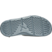 Bottom view of Men's Jordan Hydro 5 Retro Slide Sandals in Cool Grey/Metallic Hematite/Black