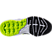 Bottom view of Boys' Grade School Nike Air Max Dynasty Running Shoes in Cool Grey/Black/White/Volt