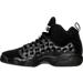 Left view of Boys' Grade School Jordan Jumpman Team II Basketball Shoes in Black/Cool Grey/White/Metallic