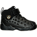 Right view of Boys' Toddler Jordan Jumpman Team II Basketball Shoes in 001