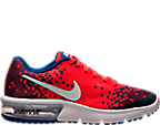Boys' Grade School Nike Air Max Sequent Print Running Shoes