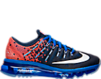 Boys' Grade School Nike Air Max 2016 Print Running Shoes