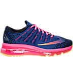 Girls' Grade School Nike Air Max 2016 Print Running Shoes