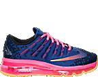 Girls' Grade School Nike Air Max 2016 Print Running Shoes