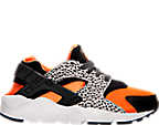 Boys' Grade School Nike Huarache Run Safari Running Shoes