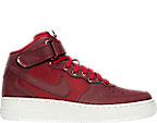 Boys' Grade School Nike Air Force 1 Mid LV8 Casual Shoes