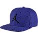 Front view of Air Jordan Speckle Print Snapback Hat in 482