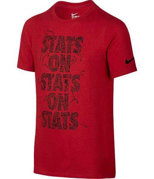 Boys' Nike Stats on Stats Training T-Shirt