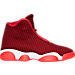 Right view of Boys' Grade School Jordan Horizon Basketball Shoes in Gym Red/White/Team Red