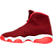 Left view of Boys' Grade School Jordan Horizon Basketball Shoes in Gym Red/White/Team Red