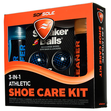 Sof Sole 3-In-1 Athletic Shoe Care Kit