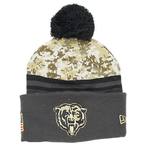 New Era Chicago Bears NFL 2016 Salute To Service Knit Hat
