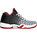 Right view of Men's Air Jordan XX9 Low Basketball Shoes in White/Black/Gym Red