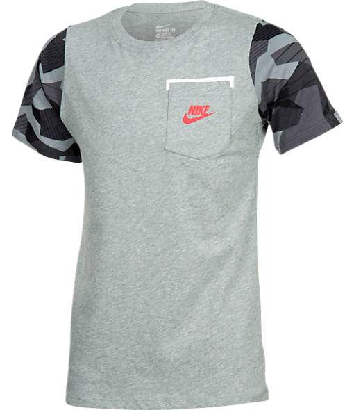 Boys' Nike Camo Sleeve T-Shirt