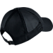 Back view of Women's Nike Heritage 86 Adjustable Back Hat in Black