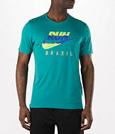 Men's Nike RUN Brazil Flag T-Shirt