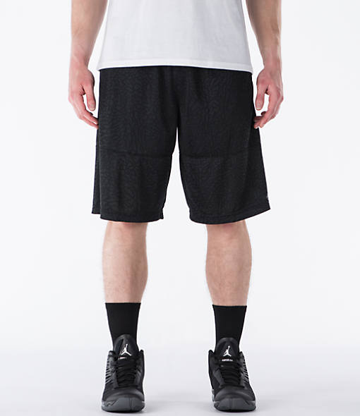 Men's Air Jordan Elephant Print Blockout Basketball Shorts