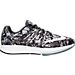 Right view of Men's Nike Zoom Elite 8 Print Running Shoes in Black/White/Pure Platinum/Cool Grey