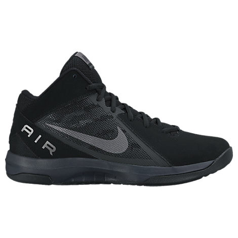 Men's Nike Air Overplay Nubuck Basketball Shoes