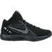 Right view of Men's Nike Air Overplay Nubuck Basketball Shoes in