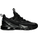 Right view of Men's Nike LeBron 13 Low Basketball Shoes in Black/Reflective/Anthracite