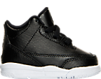 Boys' Toddler Air Jordan Retro 3 Basketball Shoes