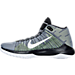 Left view of Men's Nike Zoom Ascention Basketball Shoes in 004