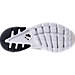 Bottom view of Men's Nike Air Huarache Ultra Breathe Casual Shoes in Black/Summit White