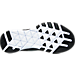 Bottom view of Men's Nike Free Trainer Versatility Training Shoes in Black/Black/White