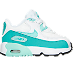 Girls' Toddler Nike Air Max 90 Leather Running Shoes