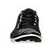 Front view of Women's Nike Free Transform Flyknit Training Shoes in Black/White