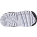Bottom view of Boys' Toddler Nike Air Max 90 Leather Running Shoes in Cool Grey/Wolf Grey/Pure Platinum